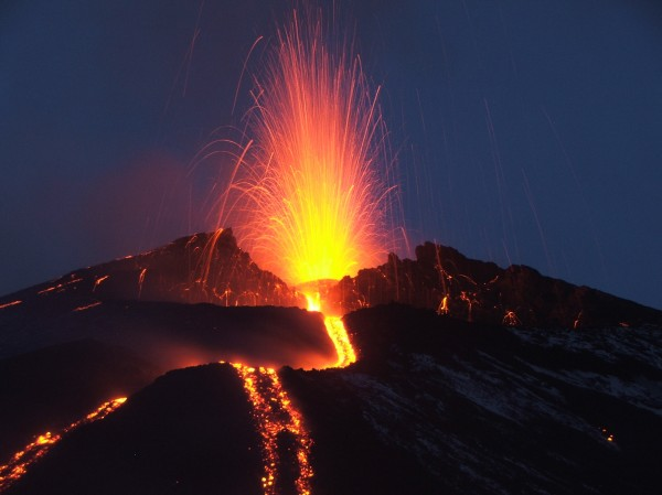 Eruption Etna