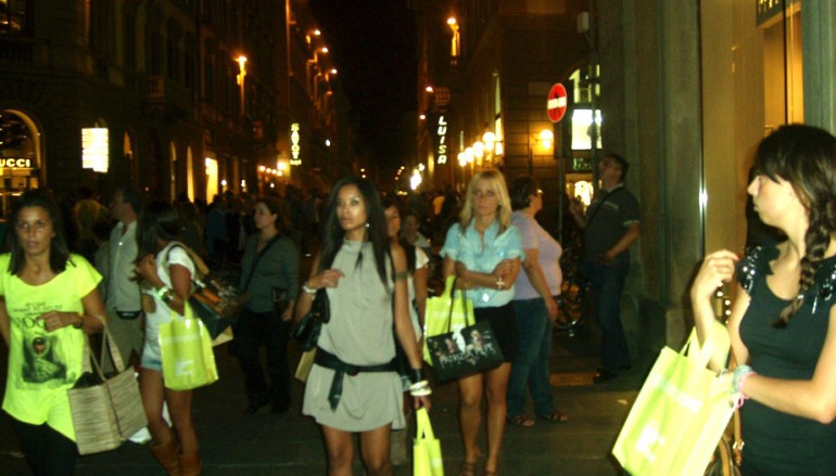 FIRENZE, VOGUE FASHION'S NIGHT OUT IN IMMAGINI