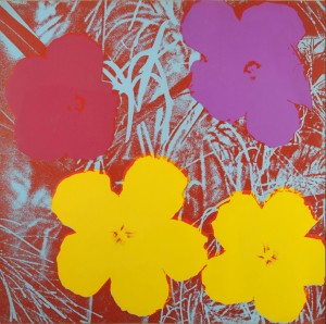 Andy Warhol, Fiori - © Andy Warhol Foundation for the Visual Arts, by SIAE 2013
