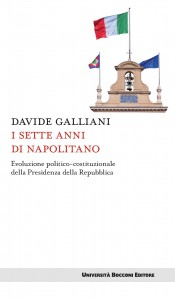 La copertina del libro di Davide  Galliani