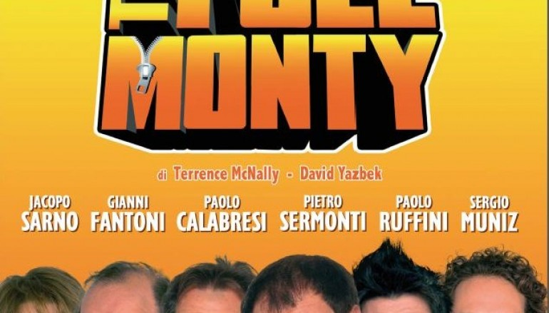 "Il musical ""The Full Monty"" approda a Milano"