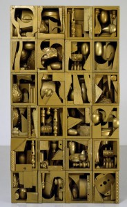 Nevelson - The Golden Pearl, 1962