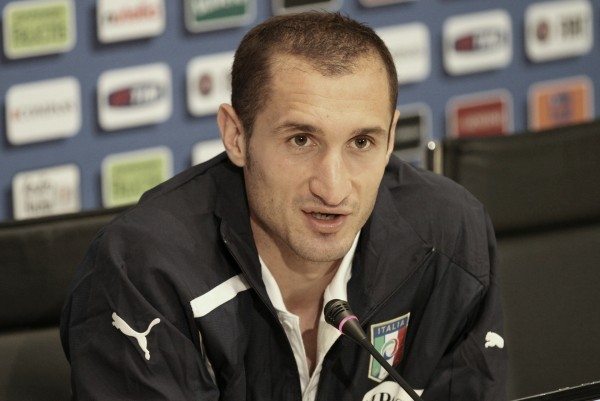 Chiellini in conferenza stampa @Emilio Buttaro
