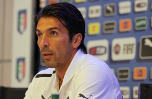 Buffon in conferenza stampa - foto di Franco Butt