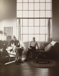 Hans Namuth, Edward e Josephine Hopper. 1964.  Photo Hans Namuth, copy 1990.