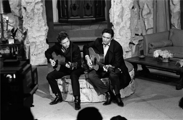 Johnny Cash e Bob-Dylan