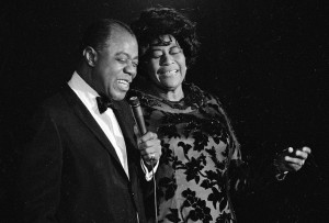 Louis Armstrong ed Ella Fitzgerald