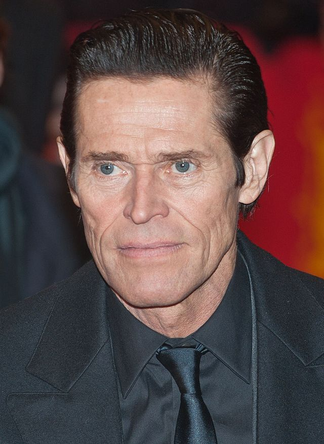 willhem dafoe height