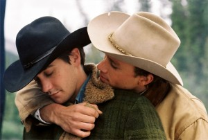 "Un'immagine del film ""I segreti di brokeback mountain"""