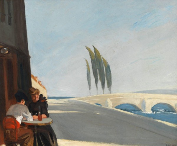 Edward Hopper (1882 1967) Le Bistro or The Wine Shop 1909 Oil on canvas, 61x 73,3 cm Whitney Museum of American Art, New York; Josephine N. Hopper Bequest © Heirs of Josephine N. Hopper, Licensed by Whitney Museum of American Art