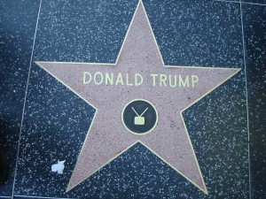 La stella di Donald Trump sulla Hollywood Walk of Fame
